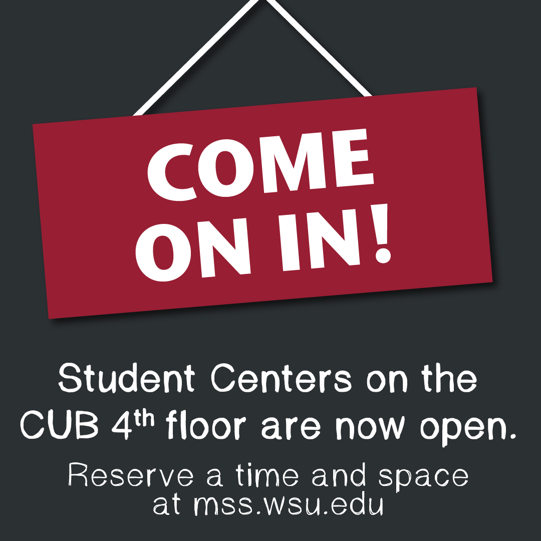 Student Centers are now open at the Compton Union Building